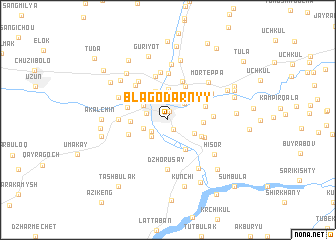 map of Blagodarnyy