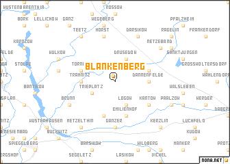 map of Blankenberg