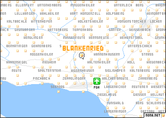 map of Blankenried