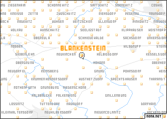 map of Blankenstein