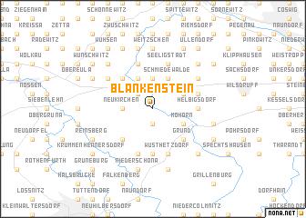 map of Blankenstein