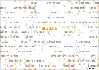 map of Bleiche