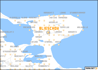 map of Blieschow