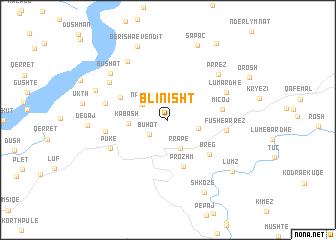 map of Blinisht