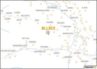 map of Bllacë