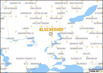 map of Blücherhof