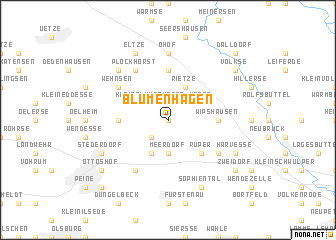 map of Blumenhagen