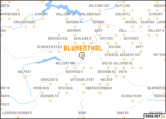 map of Blumenthal