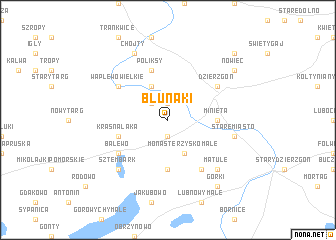 map of Blunaki