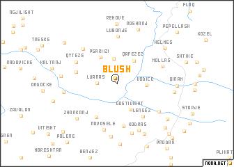 map of Blush