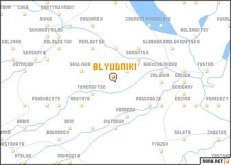 map of Blyudniki