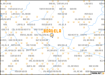 map of Boadela