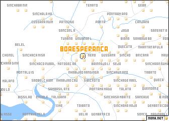 map of Boa Esperança