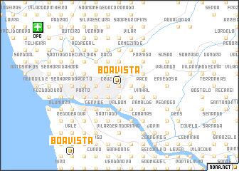 map of Boa Vista