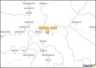 map of Bobalama