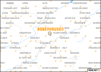 map of Bobenhausen
