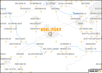 map of Böblingen