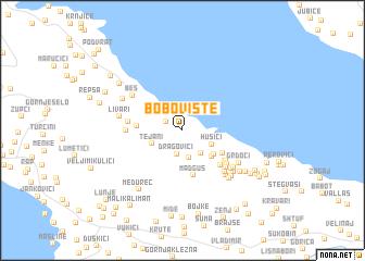 map of Bobovište