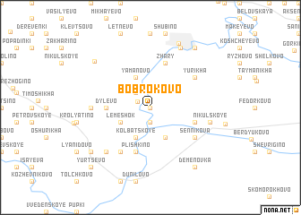 map of Bobrokovo