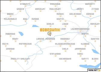 map of Bobrownik