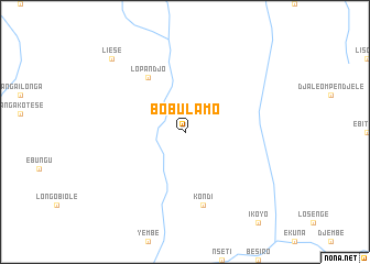 map of Bobulamo
