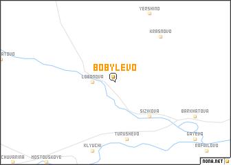 map of Bobylëvo