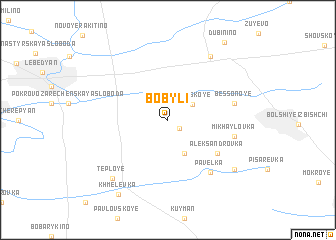 map of Bobyli