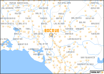 map of Bocaue