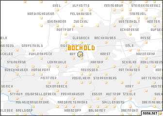 map of Bochold