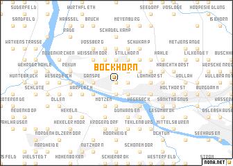 map of Bockhorn