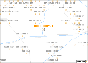 map of Bockhorst