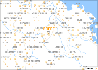 map of Bococ