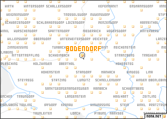 map of Bodendorf