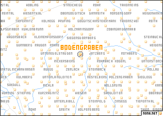 map of Bodengraben