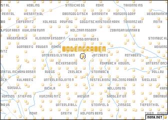 map of Bodengraben