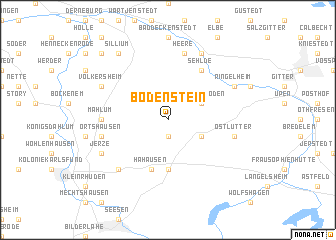map of Bodenstein