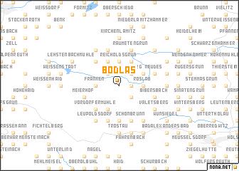 map of Bödlas