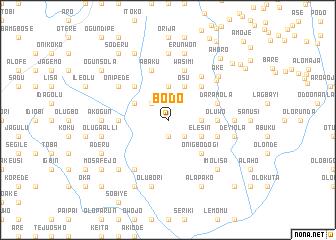 Bodo Nigeria map nonanet