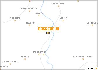 map of Bogachëvo