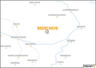 map of Bogachëvo