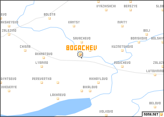 map of Bogachëv