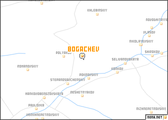 map of Bogachëv