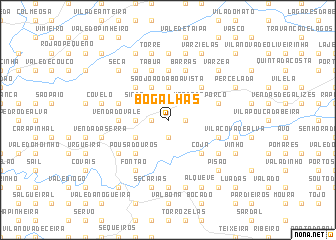 map of Bogalhas