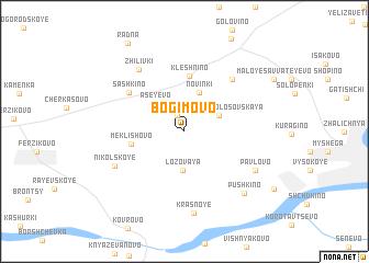 map of Bogimovo
