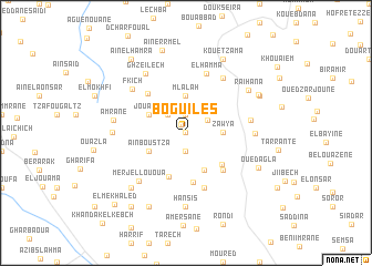 map of Boguiles