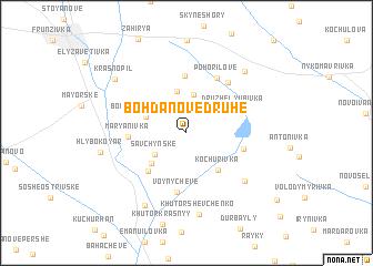 map of Bohdanove Druhe