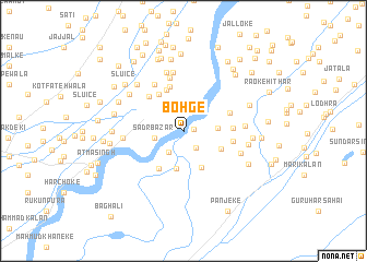 map of Bohge
