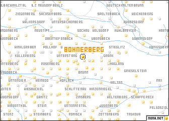 map of Bohnerberg