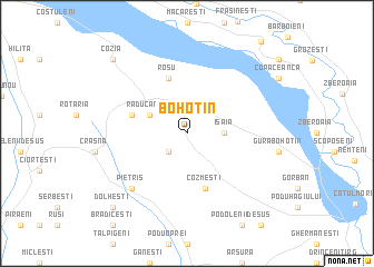 map of Bohotin