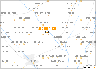 map of Bohunice